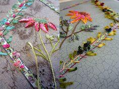 Вышивки Сесиль удивительны, каждая миниатюра очаровательна. Совмещение различных способов вышивания создает свой уникальный стиль. Смотрим и вдохновляемся.  Вышитая красота:  Увидеть такие работы и в…