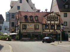 Oldest Sausage house in the world - Nurenburg Germany.