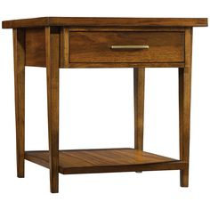 Hooker Furniture Viewpoint Wood End Table