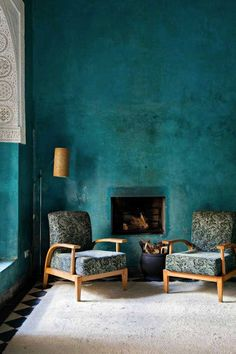 Home Decor Trends 2016 - Interior Design Trends 2016 Murs Turquoise, Turquoise Room, Turquoise Bathroom, Bleu Turquoise, Vintage Turquoise, Gold Wall Art, Teal Walls, Green Walls, Teal Rooms