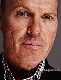 A Normal Day in the Unusual Life of Michael Keaton John Douglas, Michael Keaton, Beetlejuice, Tim Burton, Hollywood, Gary Oldman, A Guy Who, Esquire, Famous Faces