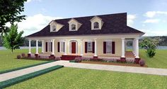 House Plan 64535 | Country    Plan with 2123 Sq. Ft., 3 Bedrooms, 3 Bathrooms