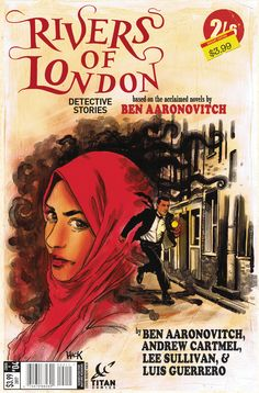 Rivers of London: Detective Stories #4A (Rivers of London #4) by Ben Aaronovitch & Andrew Cartmel, Titan Comics, 2017