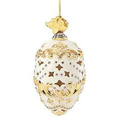 Lenox 2015 Annual Porcelain hanging Ornament