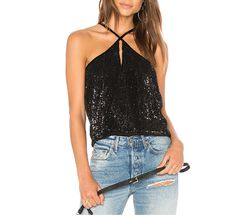 Women's Clothing Smart New Fashion Womens Sleeveless Sparkly Slash Neck Sequin Spaghetti Strap Party Club Top Shirt Summer Rhinestone Camisetas Mujer Sale Price