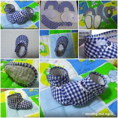 How to make Slippers for Babies step by step DIY tutorial instructions, How to, how to do, diy instructions, crafts, do it yourself, diy website, art project ideas
