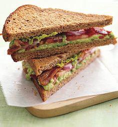 Healthy BLT with Avocado spread! :) mmmm