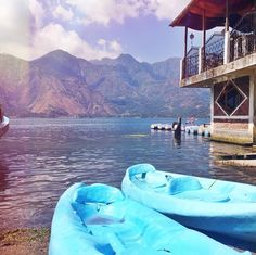 Kayaking the lake • time well spent this weekend in San Pedro