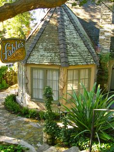 """One of the charming """"Comstock Cottages"""" in Carmel by the Sea (photo:Linda Yvonne)"""