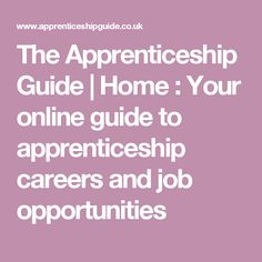 Choose an apprenticeship, find an employer and contact a learning provider. Start browsing here and you'll soon be on your way Life Counseling, Opportunity, Coaching, Career, Learning, Tattoos, Training, Carrera, Tatuajes