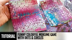 DIY How to make Funny Colorful Mokume Gane with Dots & Circles! FREE Vid...