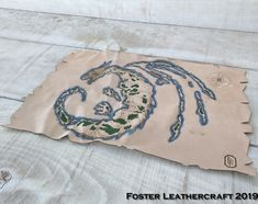Adventure Map, Dramatic Effect, Leather Craft, The Fosters, Design, Products, Leather Crafts, Gadget
