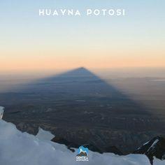 Sombra do Huayna Potosi 6.088 metros - projetada por 50 km Foto de Paula Kapp aluna do Curso de Gelo e Alta Montanha em 2015. >>>Curso de Gelo e Alta Montanha Data: 19/07/2016 a 31/07/2016  Informações: http://ift.tt/1U2gZMN #AltaMontanha #GentedeMontanha #ProntoparaAventura #Alpinism #montanhismo #mountain #Bolivia #HuaynaPotosi #CursodeGelo