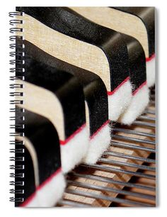 """This x spiral notebook features the artwork """"Piano Keys"""" by Sandi Kroll on the cover and includes 120 lined pages for your notes and greatest thoughts. Notebooks For Sale, Piano Keys, Fine Art America, Artists, Artwork, Shop, Photography, Inspiration, Biblical Inspiration"""