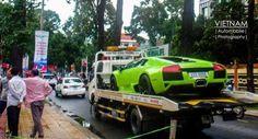 Siêu xe Lamborghini Murcielago LP640 màu xanh cốm của Việt Nam