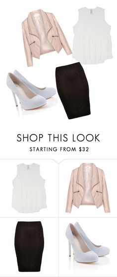 """Untitled #18"" by dessygirl0301 ❤ liked on Polyvore featuring Melissa McCarthy Seven7, Zizzi, River Island, Lipsy and plus size clothing"