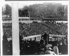 39th Presidential Inauguration 1941 Roosevelt
