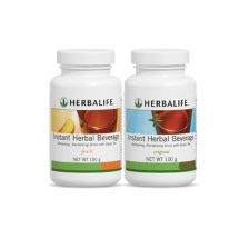 Instant Herbal Beverage - Available in Original (Lemon) and Peach flavours.  Green tea based fat burning tea! Accelerate your weight loss with a healthier caffeine kick. Unlike coffee, this counts towards daily water intake and acts on your adrenal system to give you energy by burning excess body fat!