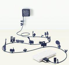 camoufler cables electriques
