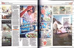 Cool piece in @metro.co.uk today on @ghanakitchen #cookbook and taking people on a food adventure ...