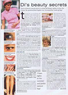 Diana beauty secrets - I had no idea she was a nail biter