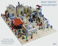 LEGO Mos Eisley Is A Wretched Hive Of Scum And Brickery