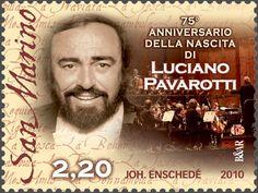 75º Aniversario del nacimiento de Luciano Pavarotti