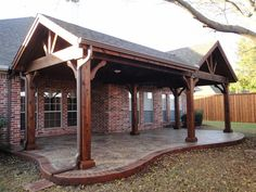 open gable patio cover design | Gable Patio Covers | Full Gable Patio Covers | Hip and Ridge Patio ...