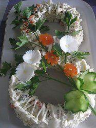 Рецепт приготовления салата к 8 марта