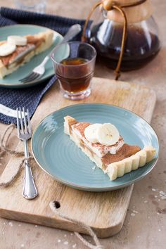 Notenvrije Banoffee Pie (Glutenvrij, lactosevrij, notenvrij, Paleo)