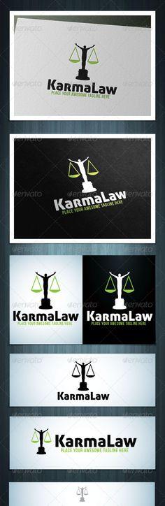 KarmaLaw  #GraphicRiver