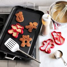 Williams-Sonoma Holiday Silicone Pancake Molds | Williams-Sonoma