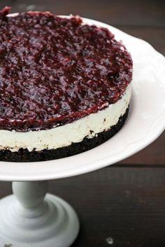 Mogyorós-szilvás túrótorta Paleo Dessert, Tiramisu, Cheesecake, Cukor, Ethnic Recipes, Food, Cheese Cakes, Eten, Tiramisu Cake