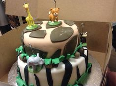 Special Jungle Theme cake by La Baguette, Palo Alto.