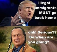 Funny Donald Trump Memes and Viral Images: Trump and Illegal Immigrants