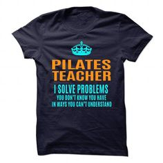 PILATES TEACHER T Shirts, Hoodies. Check price ==► https://www.sunfrog.com/No-Category/PILATES-TEACHER-89977612-Guys.html?41382 $19