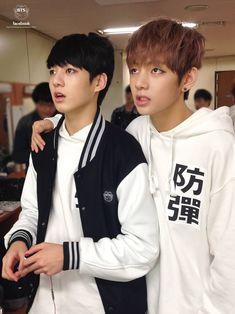 Taekook (Taehyung and Jeongguk)