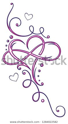 Find Tribal Heart Large Infinity Loop Tribal stock images in HD and millions of other royalty-free stock photos, illustrations and vectors in the Shutterstock collection. Thousands of new, high-quality pictures added every day. Heart With Infinity Tattoo, Tribal Heart Tattoos, Little Heart Tattoos, Infinity Tattoo Designs, Infinity Tattoos, Heart Tattoo Designs, Star Tattoos, Flower Tattoo Designs, Foot Tattoos