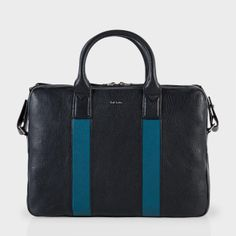 Paul Smith Men's Bags | Navy Colour Block Leather Business Folio