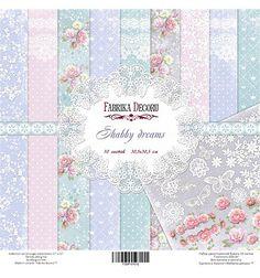 Pad of paper Shabby wedding dreams