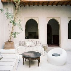 """gdeclectic: """" moroccan-outdoor-area-2.jpg by the style files on Flickr. """""""