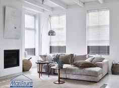 Inspiratie voor raamdecoratie in woonkamer keuken