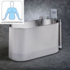 Whitehall S-110-S Stationary Sports Whirlpool Therapy System 110 Gallon - prohealthcareproducts.com