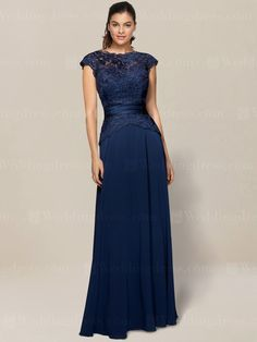mother of the bride dress_Navy