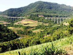 Viaduto 13, Ferrovia do Trigo, Vespasiano Correa-Rs