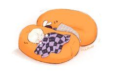 Adorable snoozing Suga and Kookie