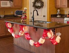 Lighted Candy Garland