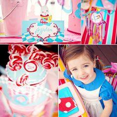 Kara's Party Ideas Alice In Wonderland Birthday Party! | Kara's Party Ideas