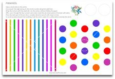 free rainbow polka dot printable party pack download (love these pinwheels)