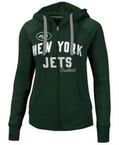 G-iii Sports Women's New York Jets Conference Full-Zip Jacket - Green XXL